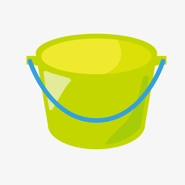 Bucket clipart green bucket. Cartoon barrel png image