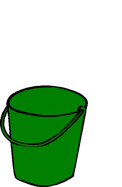 Clip art at clker. Bucket clipart green bucket