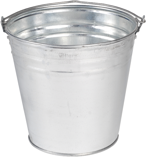 Png images transparent free. Bucket clipart metal bucket