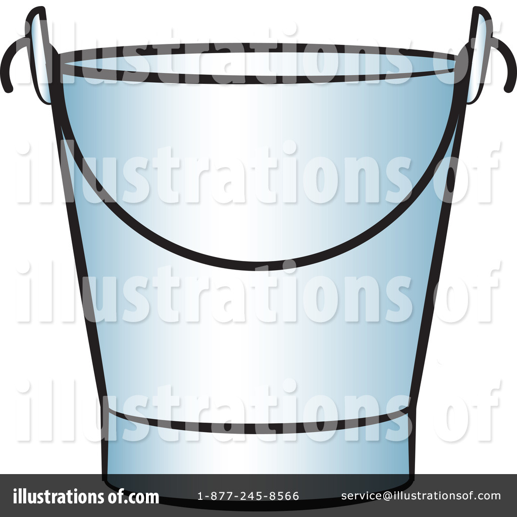 Pail illustration by lal. Bucket clipart metal bucket