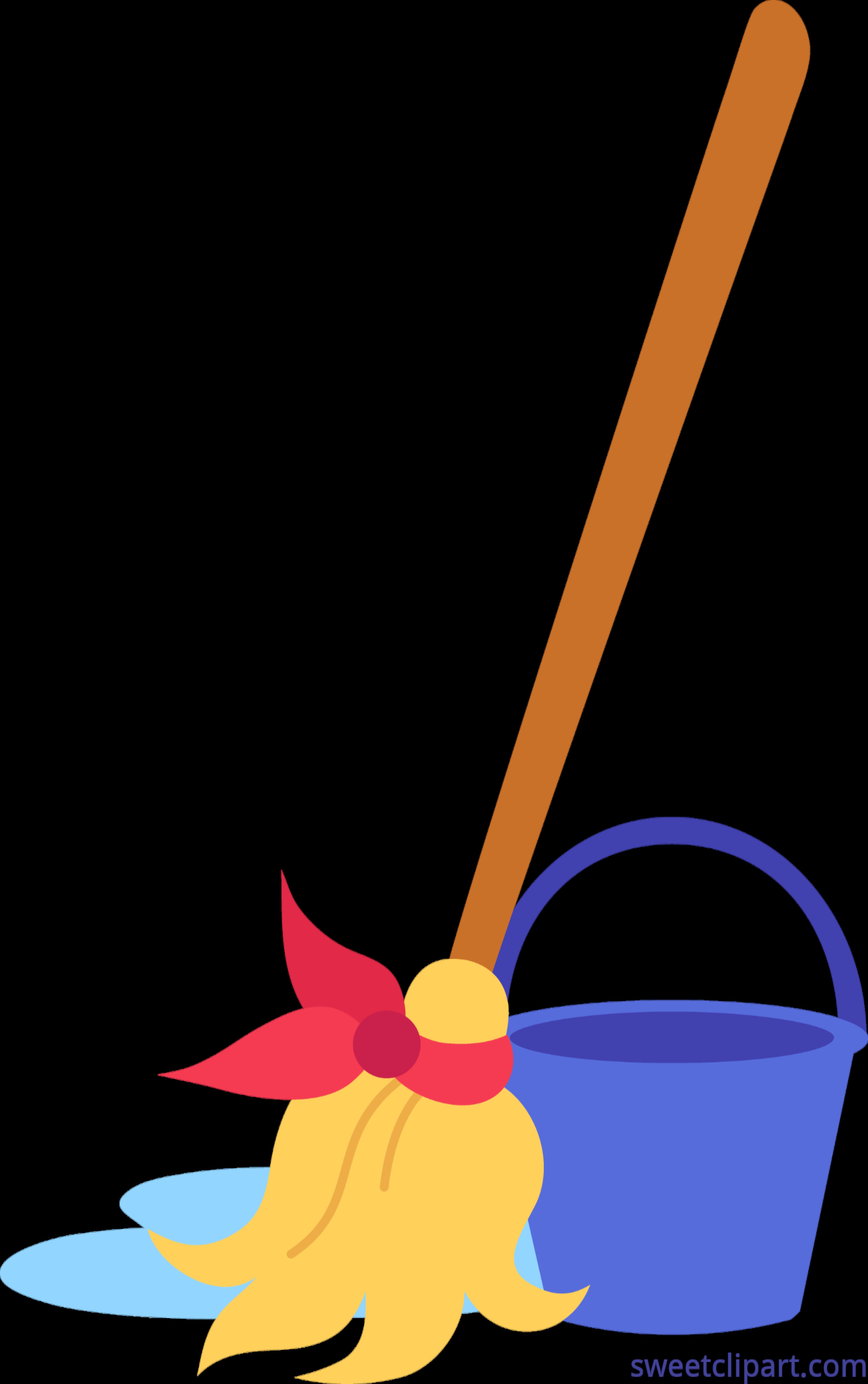 Bucket clipart mop bucket. Clip art sweet