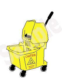 Bucket clipart mop bucket. Clip art