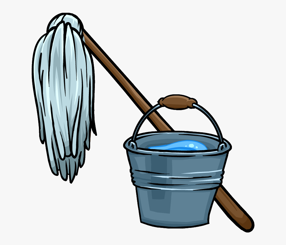 Housekeeping clipart mop bucket. Free and