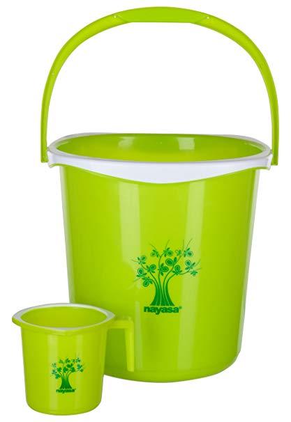 Buy nayasa plastic bathroom. Bucket clipart mug