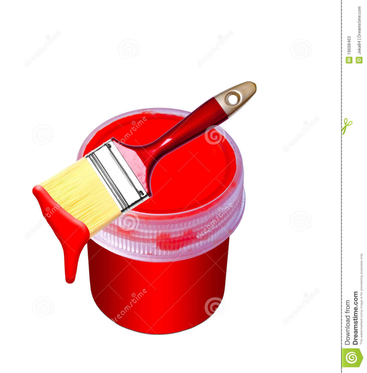 Embed codes for your. Bucket clipart paint brush