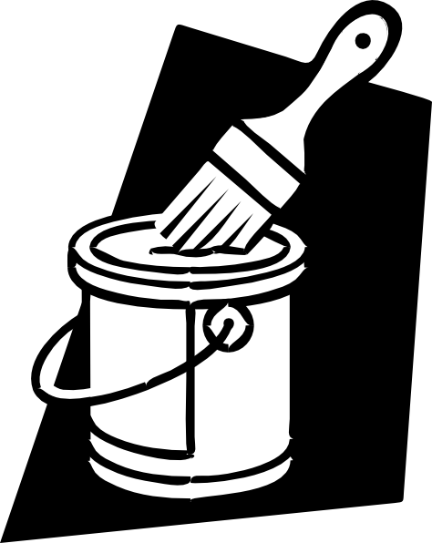 Bucket . Paint clipart