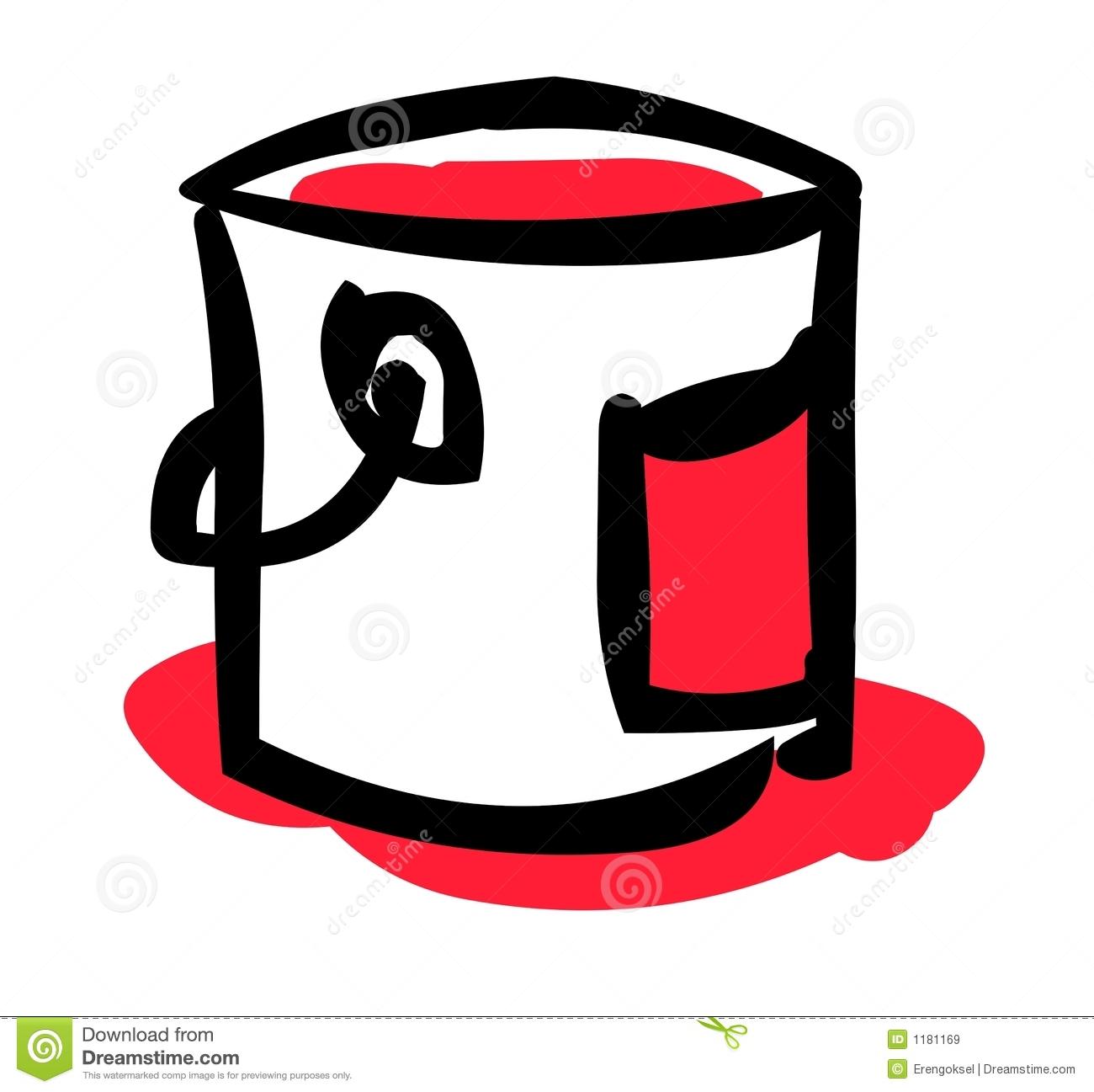 Bucket clipart paint bucket. Clip art panda free