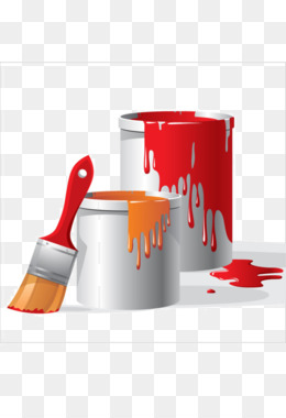 Png and psd free. Bucket clipart painting