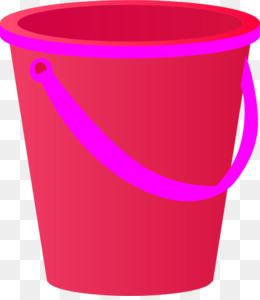 Free download and spade. Bucket clipart pink bucket