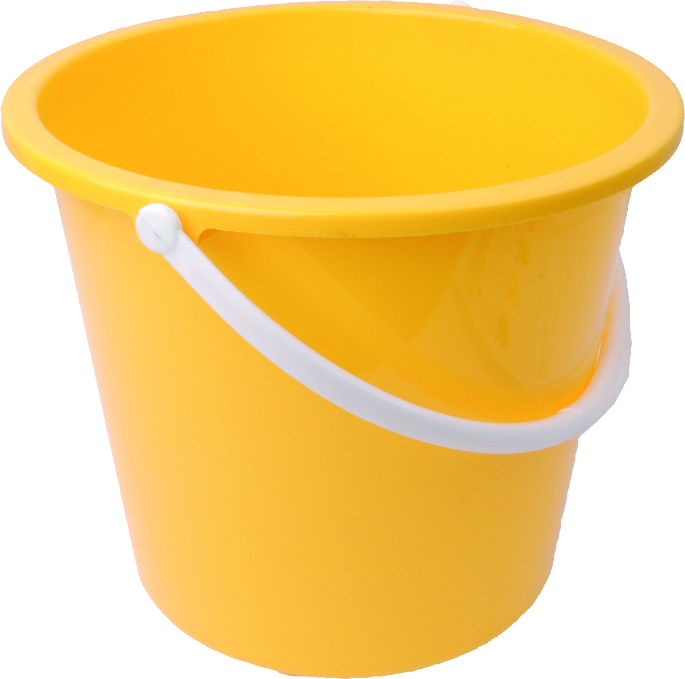 Water clipart bucket. Yellow plastic png image