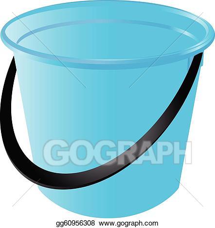 Vector stock illustration gg. Bucket clipart plastic bucket