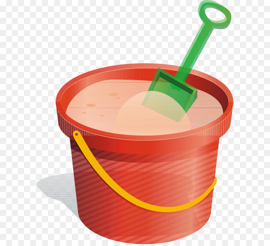 Bucket clipart plastic bucket. And spade sand clip