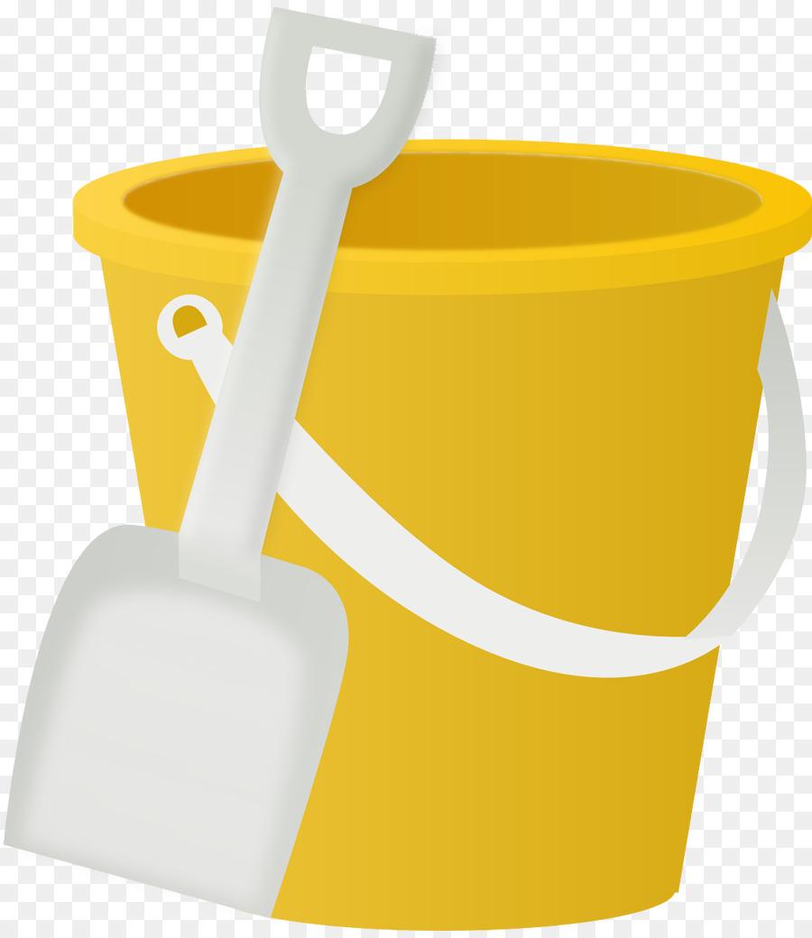 Bucket clipart plastic bucket. And spade shovel clip
