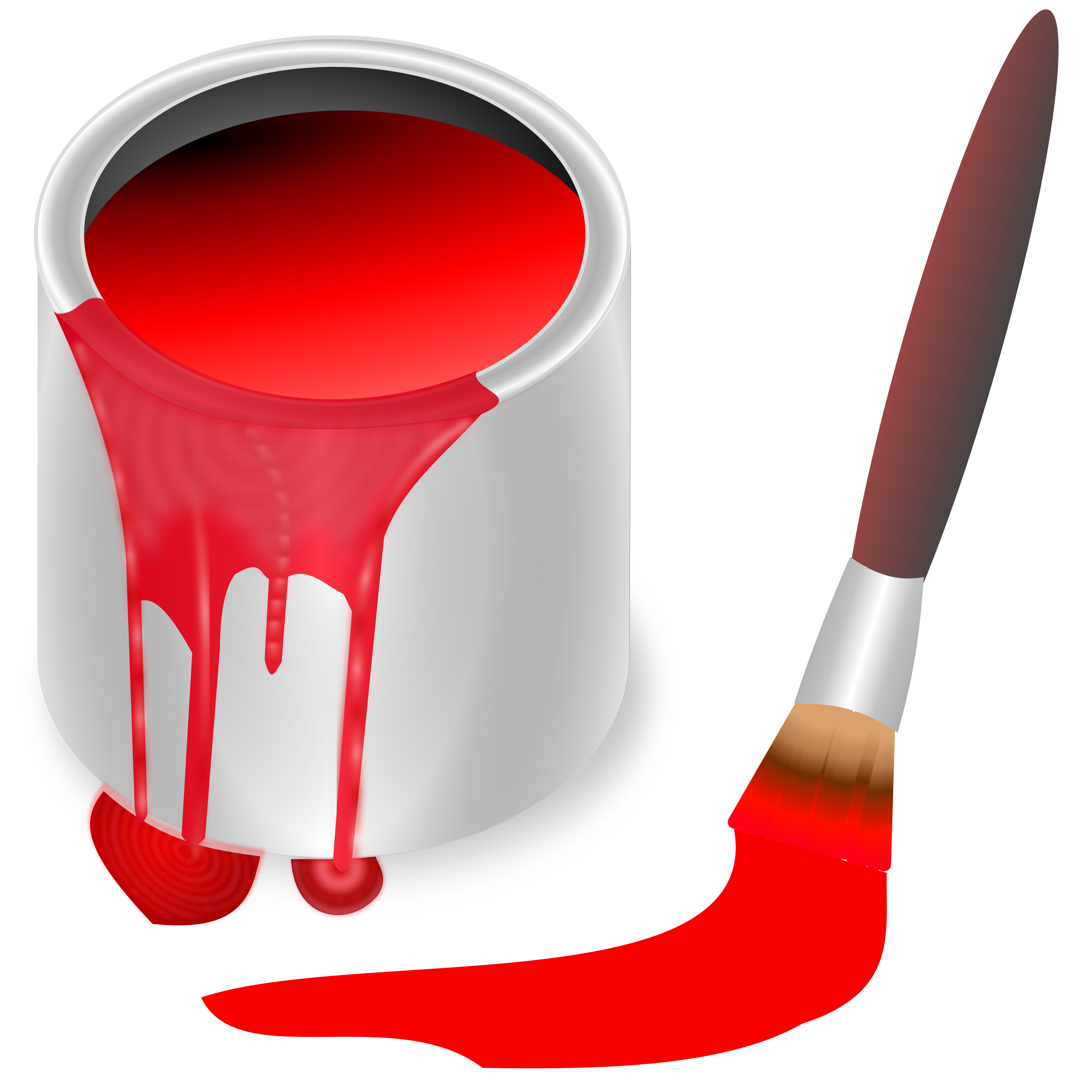 Color big image png. Bucket clipart red bucket