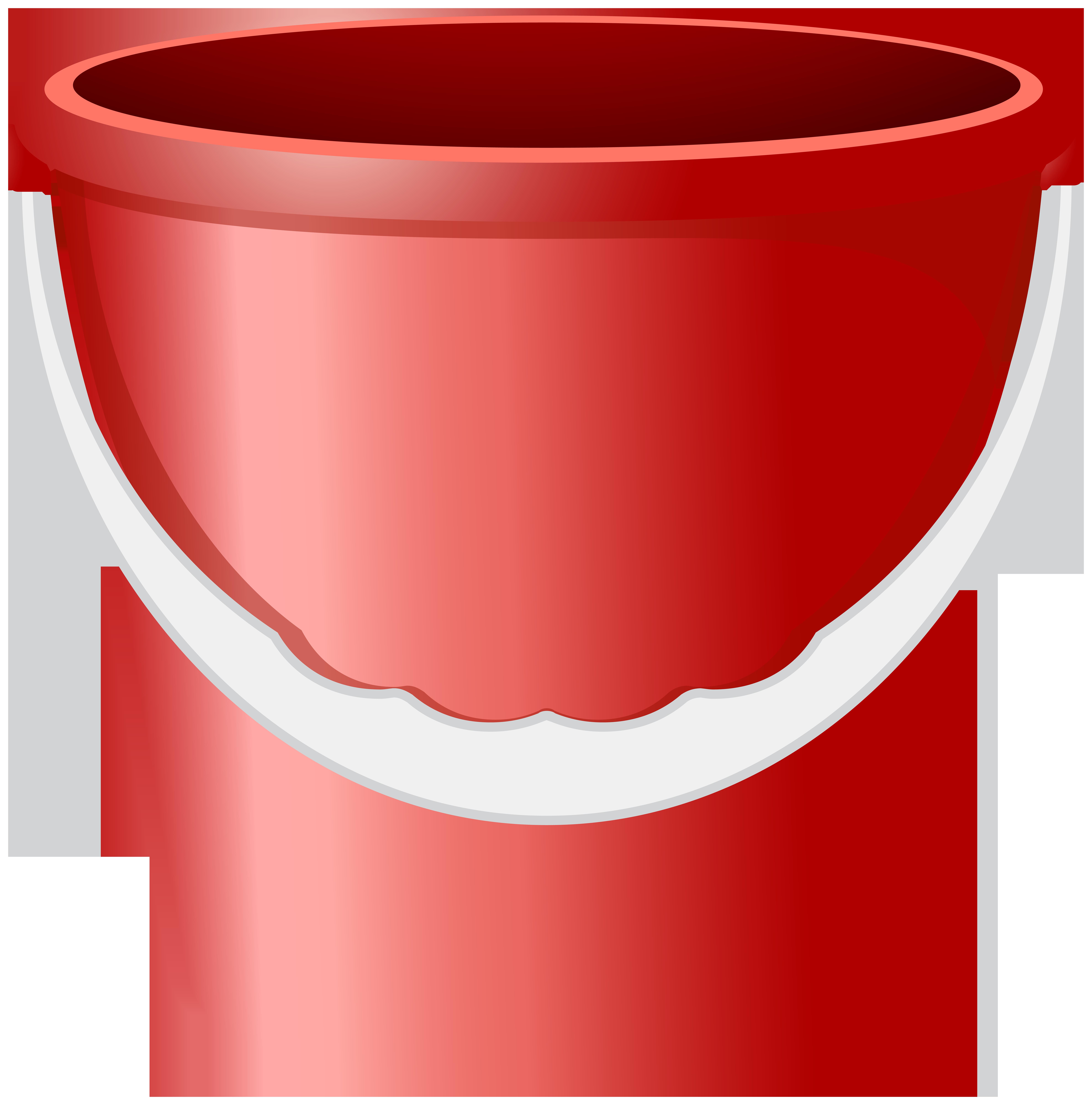 Png clip art image. Bucket clipart red bucket