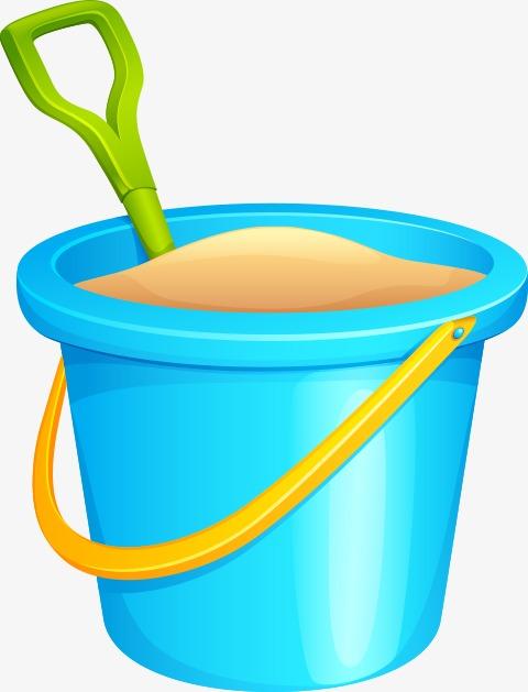 Cartoon barrel png image. Bucket clipart sand bucket