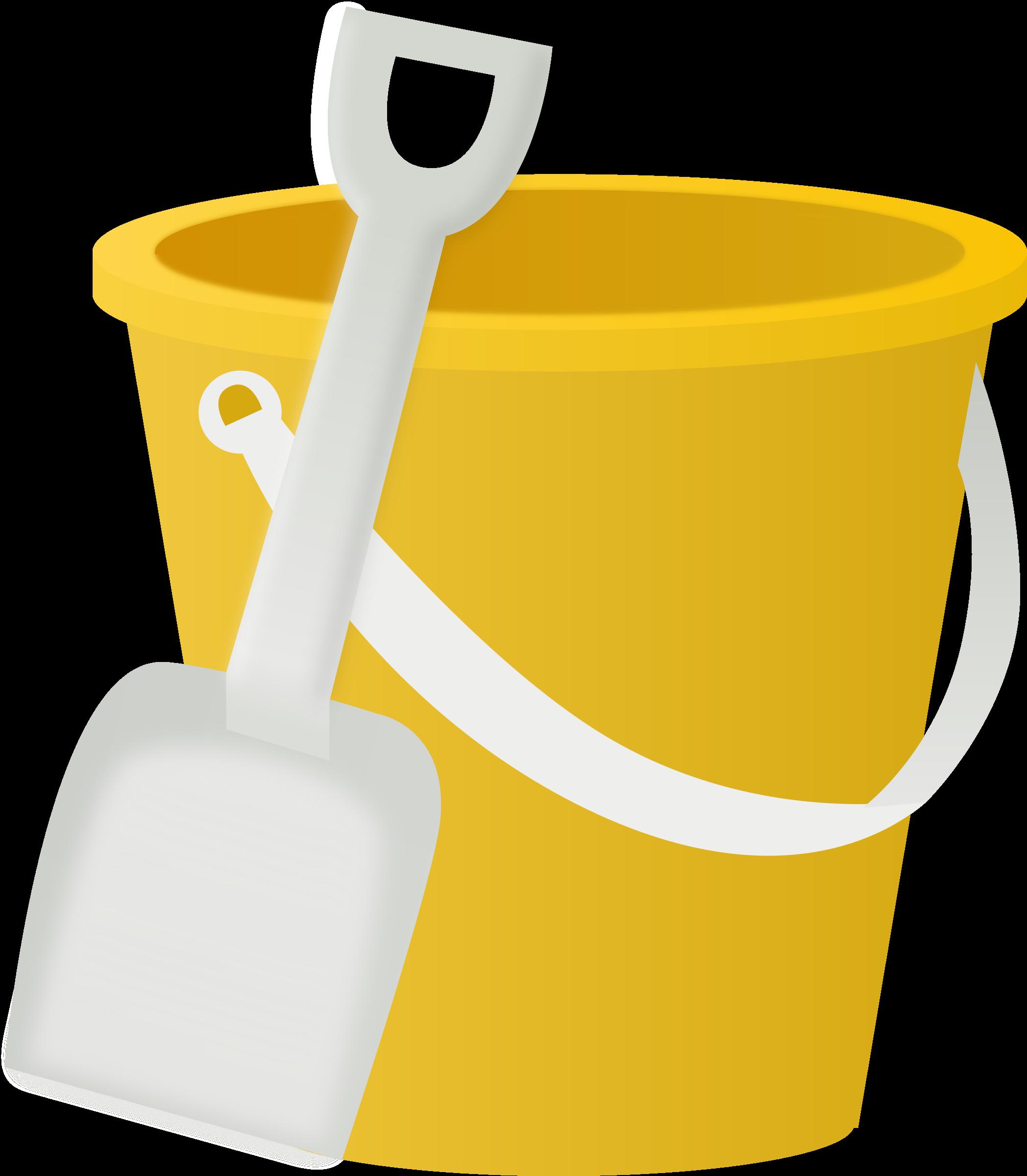Bucket clipart sand bucket. Big image png