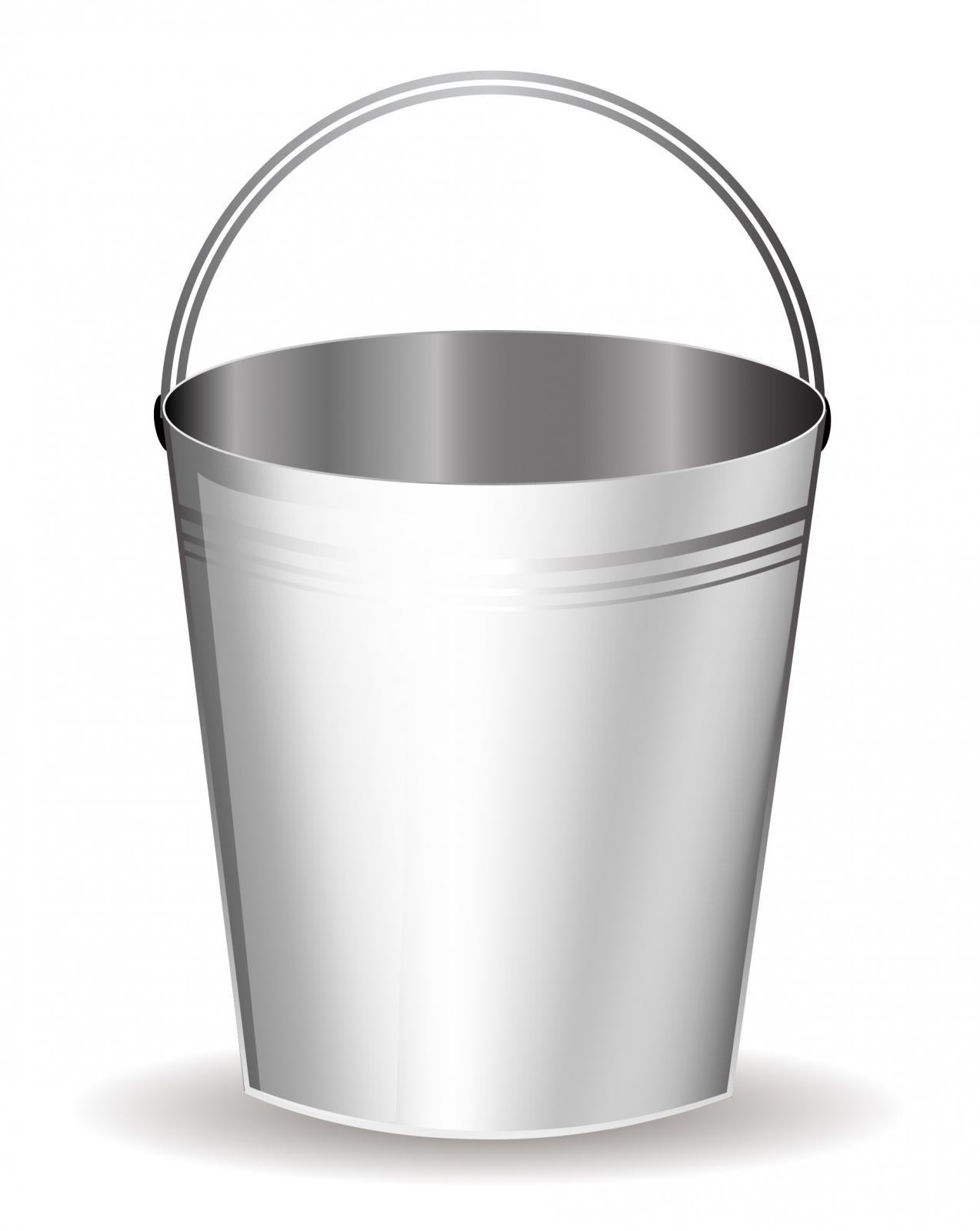 Clip art jpg clipartix. Bucket clipart silver bucket