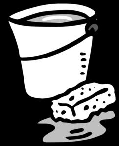 Cleaning bucket clipart and sponge md clip art net jpg