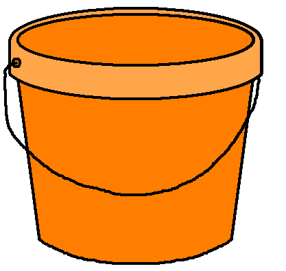 Image no jpg clipartix. Bucket clipart transparent background