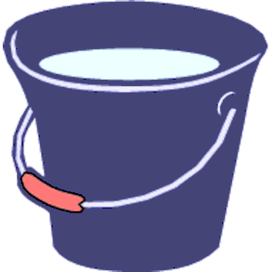 Water Pail Clipart