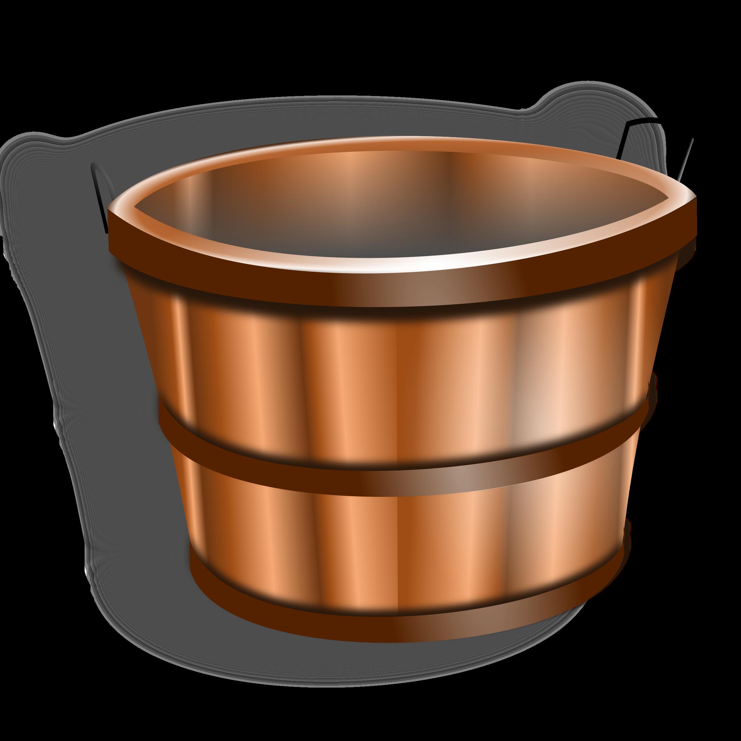 Big image png. Bucket clipart wooden bucket
