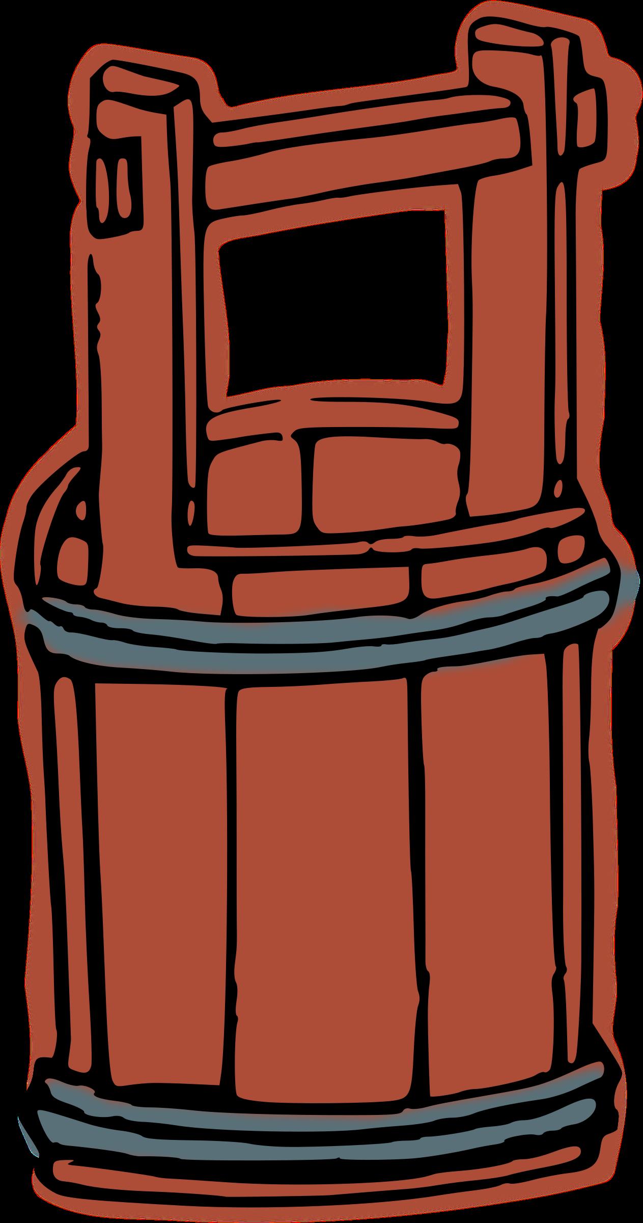 Bucket clipart wooden bucket. Big image png