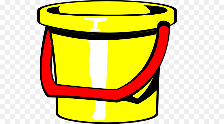 And spade clip art. Bucket clipart yellow bucket