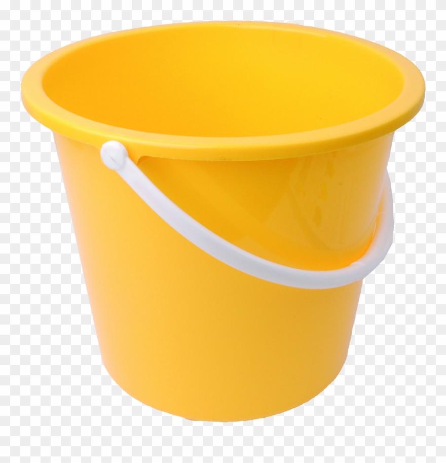Plastic png image . Bucket clipart yellow bucket
