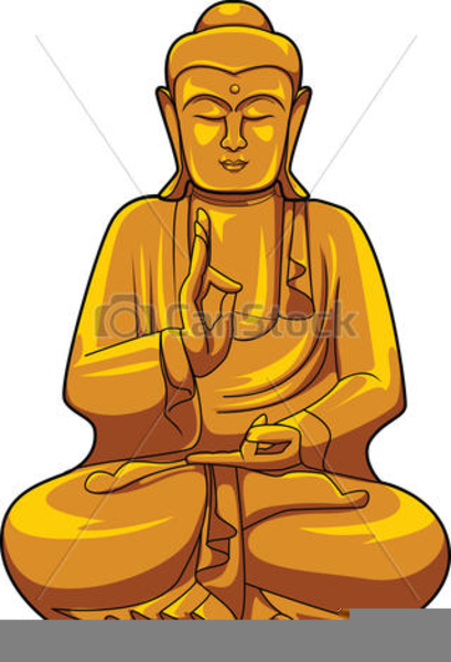 Buddha clipart. Drawing of free images