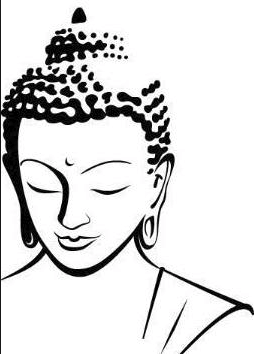 Buddha clipart easy. Image result for simple