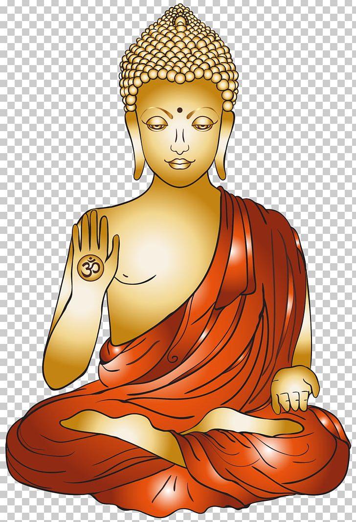 Buddha clipart golden buddha. Buddhism buddharupa png budai
