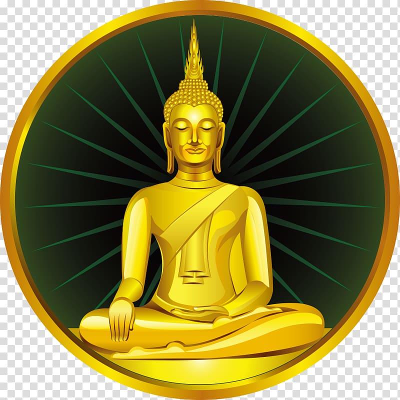 Illustration gautama buddhahood . Buddha clipart golden buddha