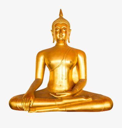 Buddha clipart golden buddha. A png bless