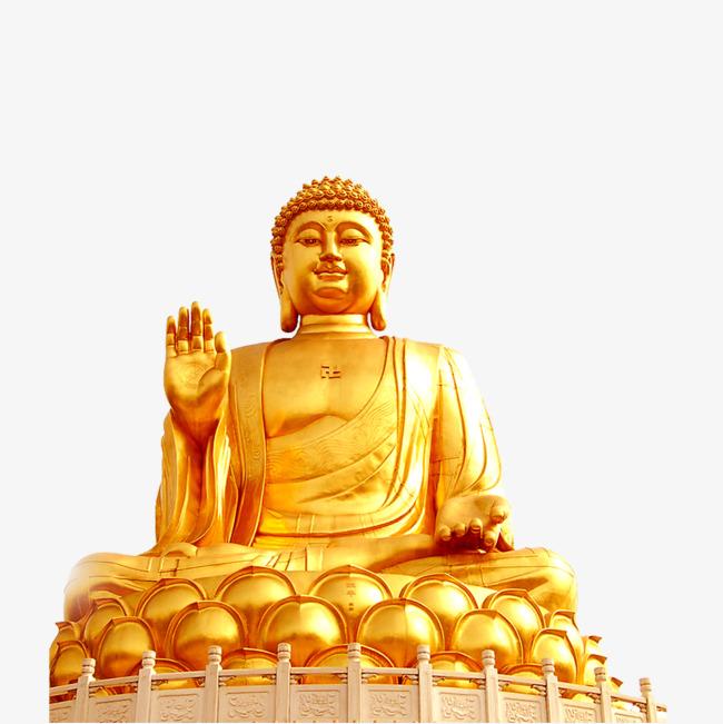 Buddha clipart golden buddha. Buddhism png image and