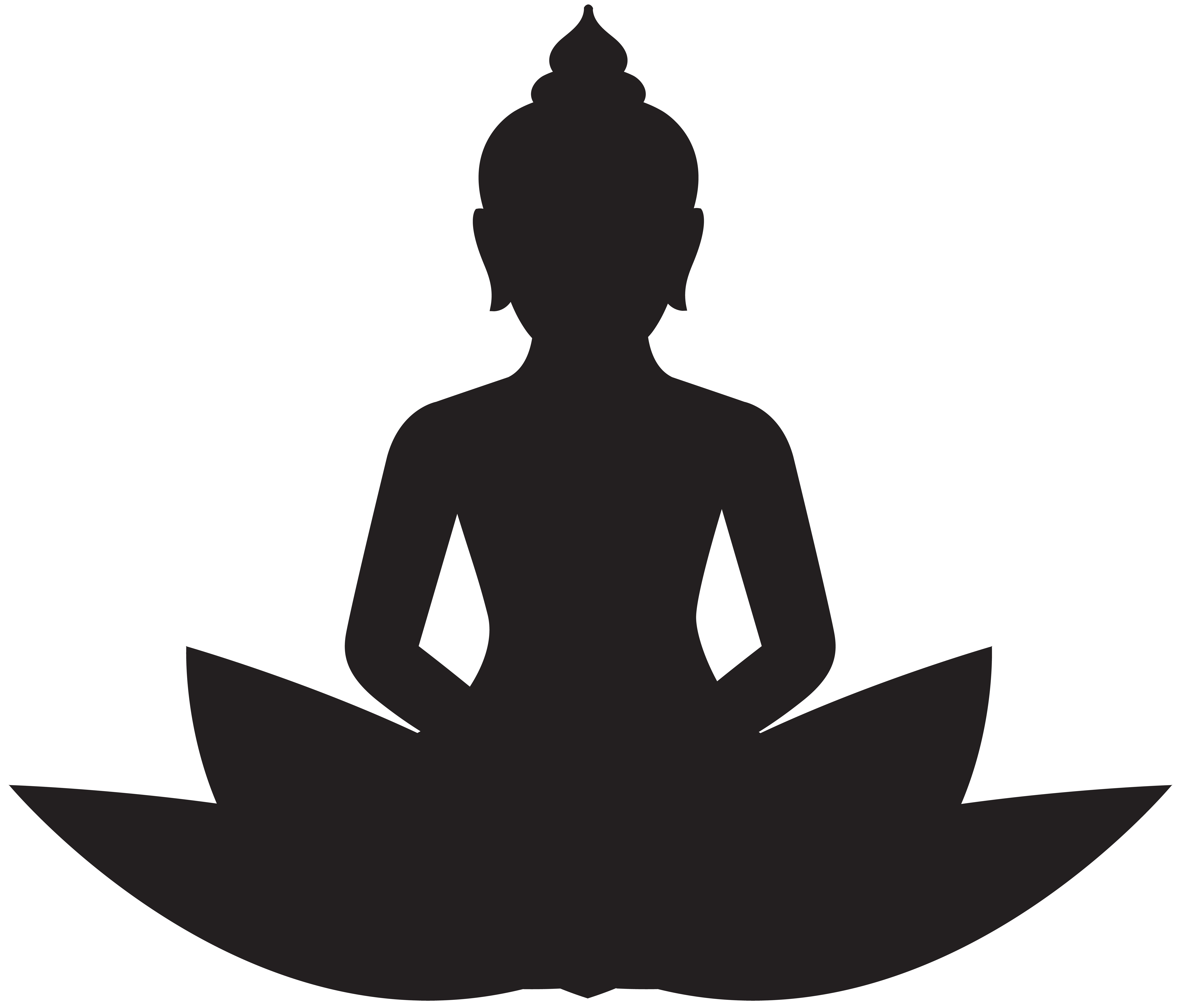 Meditation clipart buddhism symbol, Meditation buddhism ...