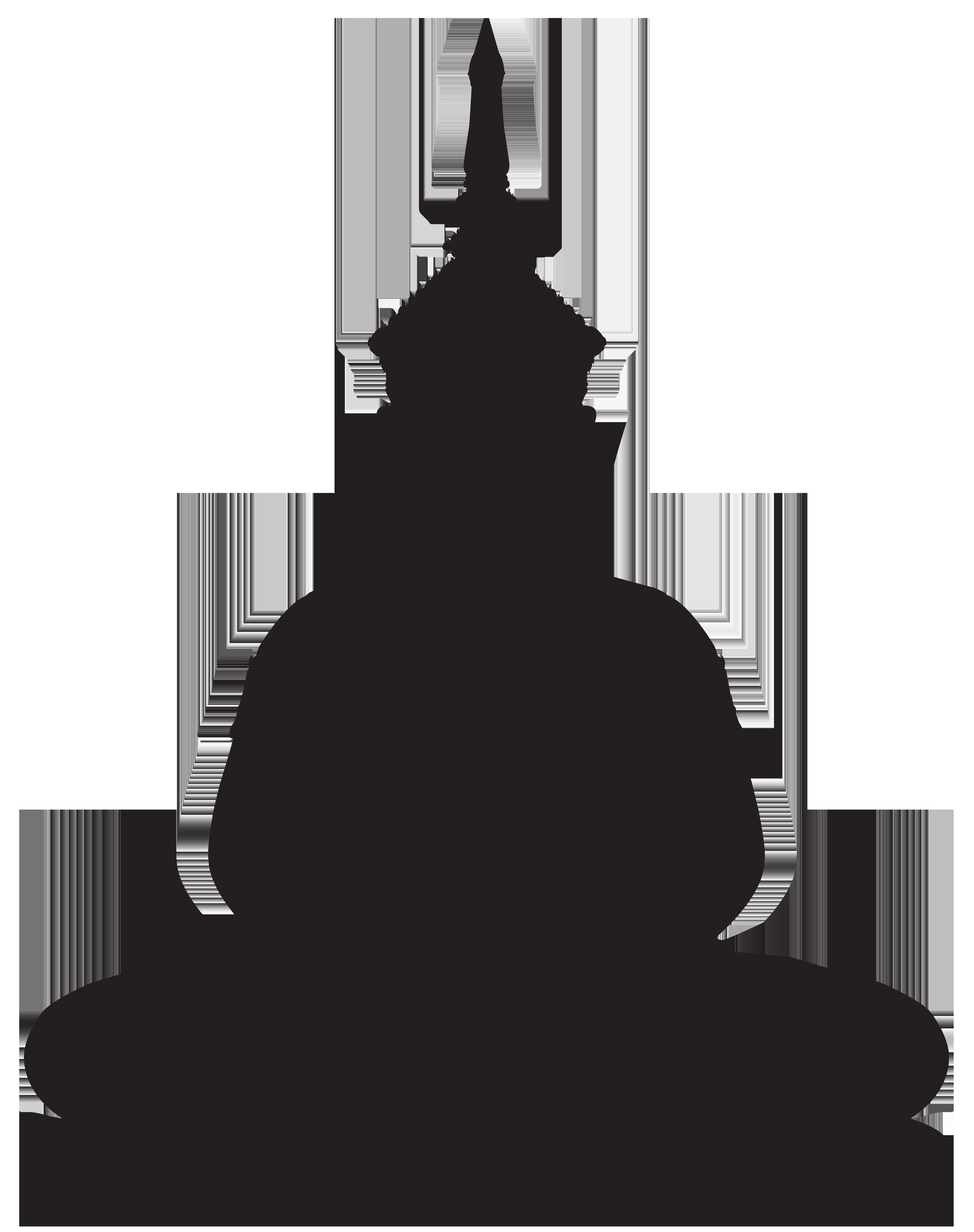 Buddha statue png clip. Lake clipart silhouette