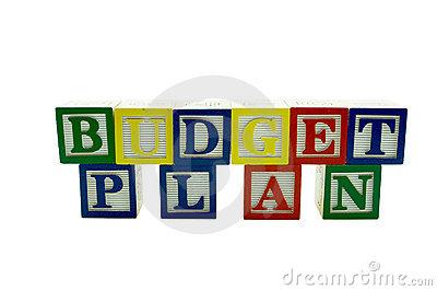 Budget budget plan