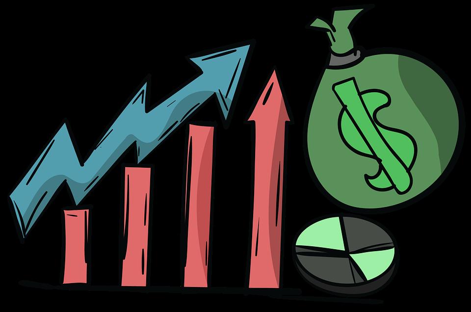 Financial modelling for start. Finance clipart business news