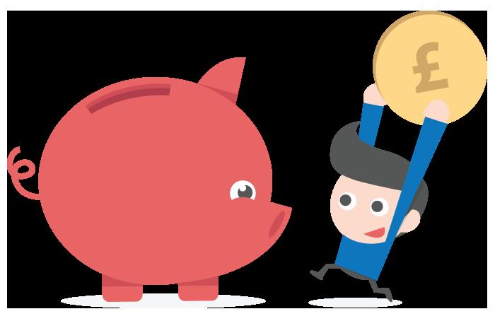 Donation clipart required. Budgeting aquarius piggy