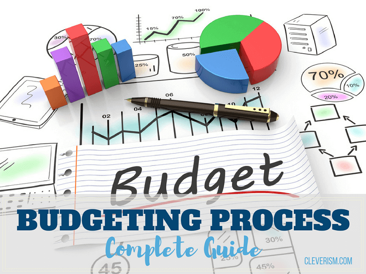 Budgeting process complete guide. Important clipart oversee