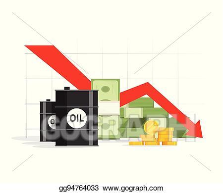 Financial clipart price. Vector concept of economy