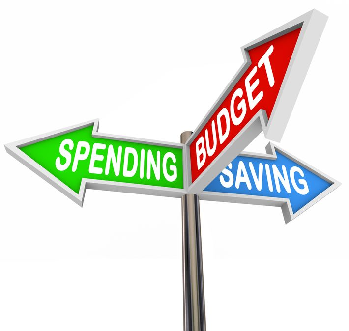 Budget clipart spending plan. A road map to