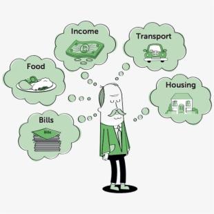 Budget clipart spending plan. Money financial planning clip