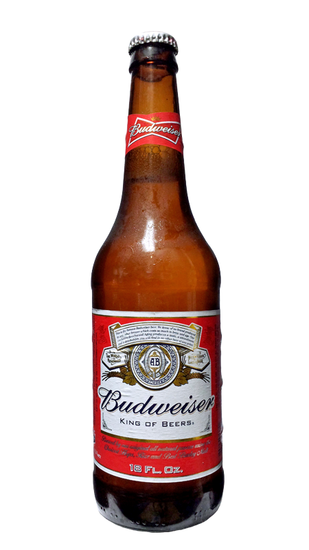 Budweiser bottle png