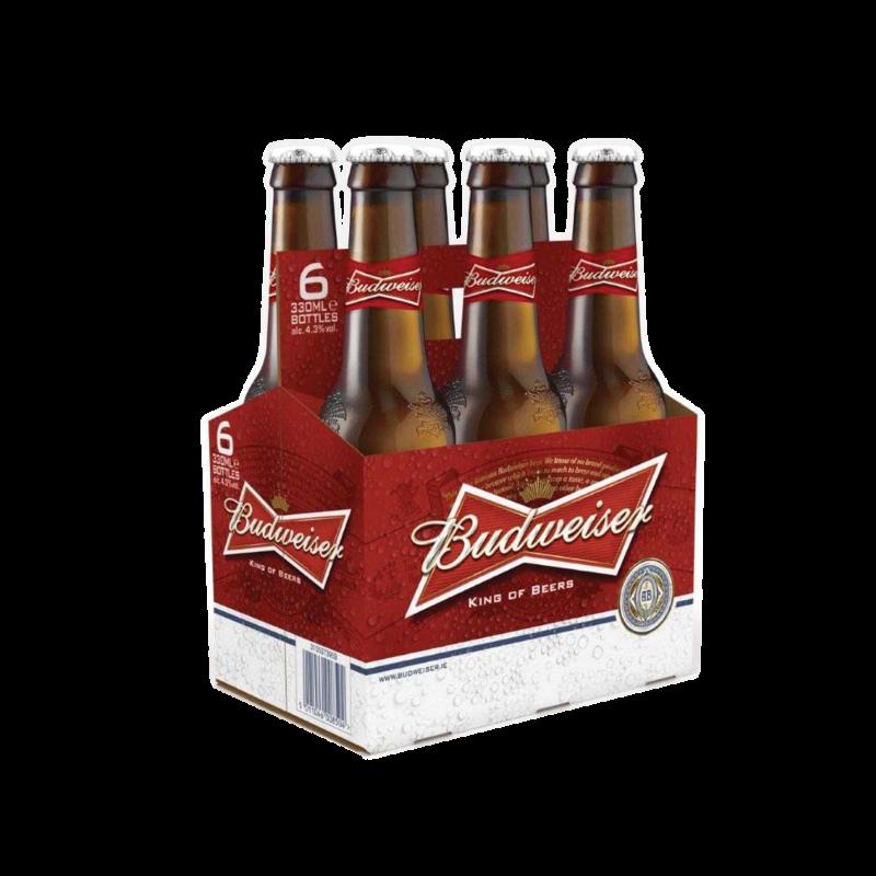 Pack ml centra. Budweiser bottle png