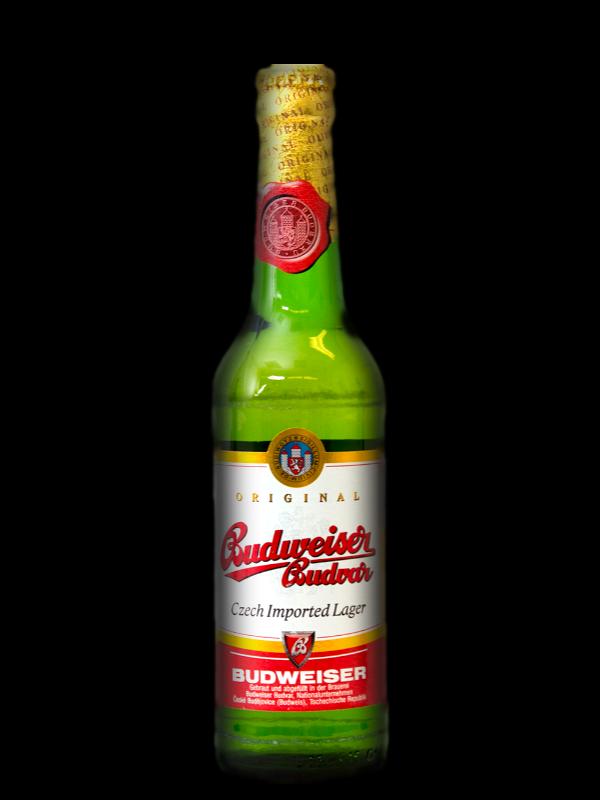 Order budvar online at. Budweiser bottle png