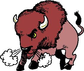 buffaloes animated images. Buffalo clipart animation