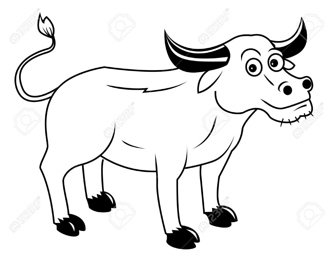 Station . Buffalo clipart black and white