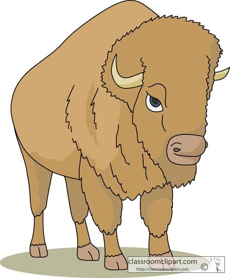 Bison. Buffalo clipart buffalo animal